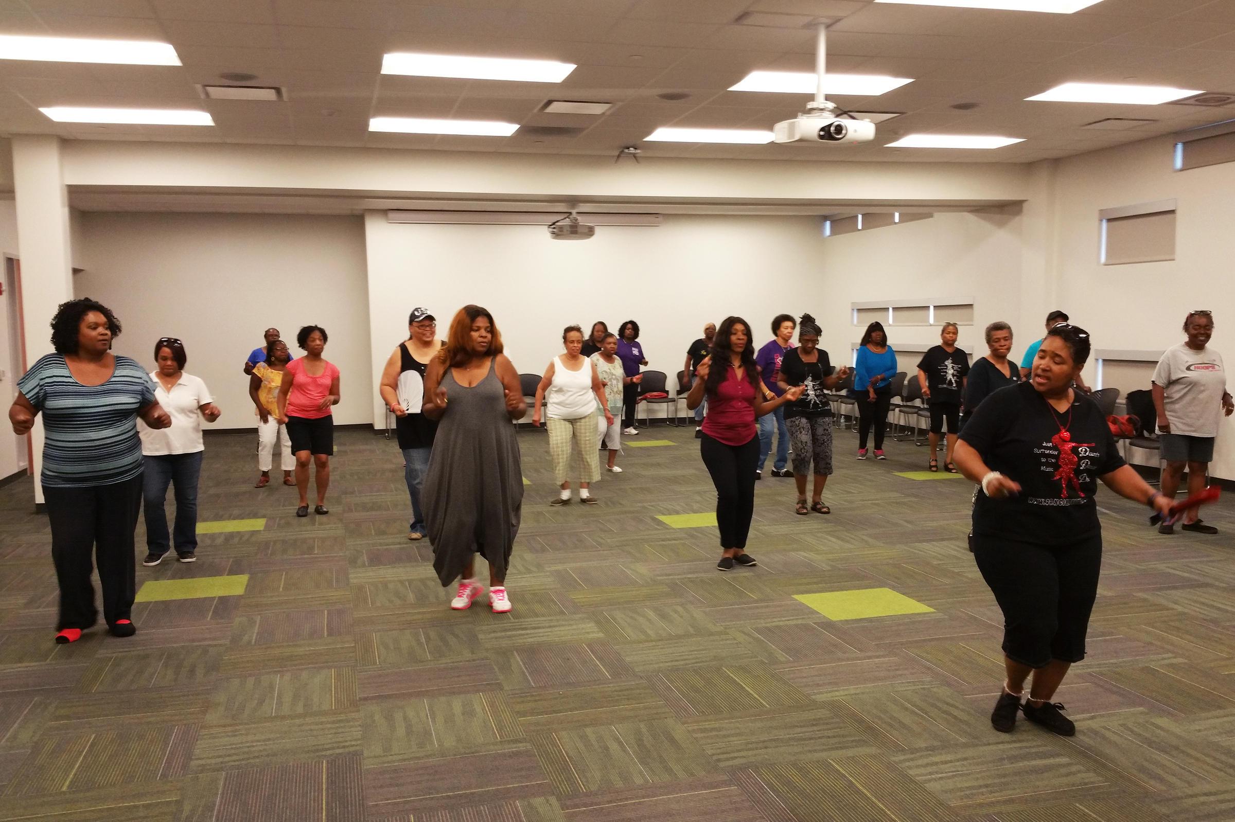 Line Dancing with Dancin