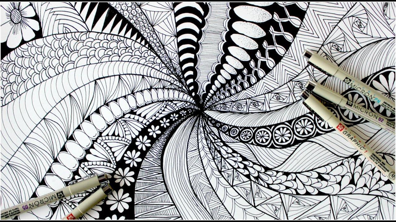 Mindful Living: Zentangle