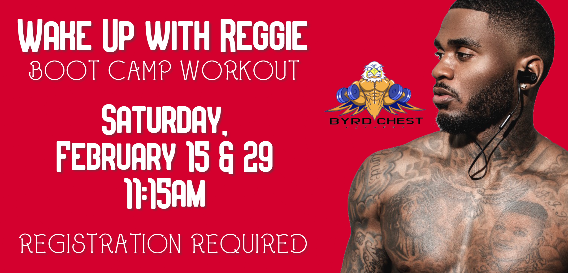 Wake up with Reggie: Boot camp workout