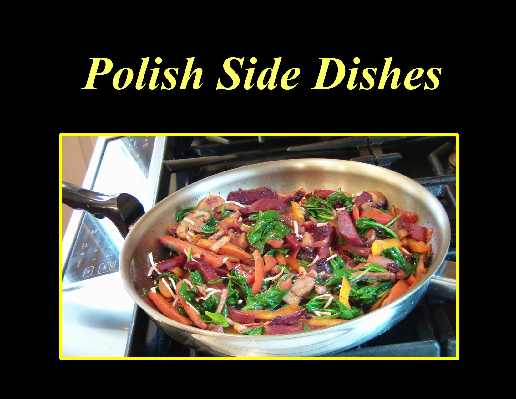 (Virtual) Tasty Tuesdays: Polish Side Dishes