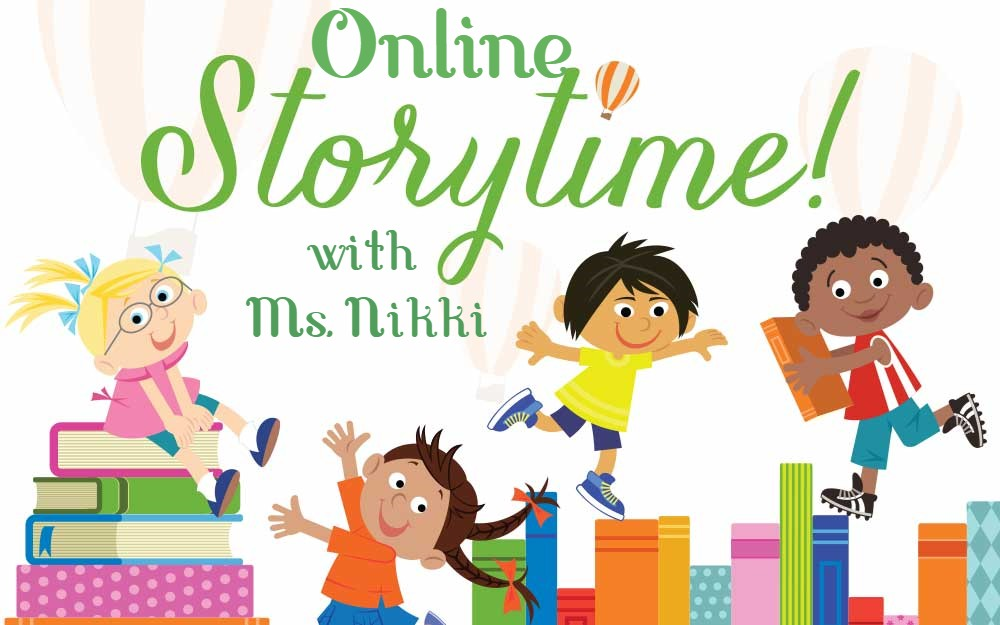 Facebook  SUMMER STORYTIME with Ms. Nikki!