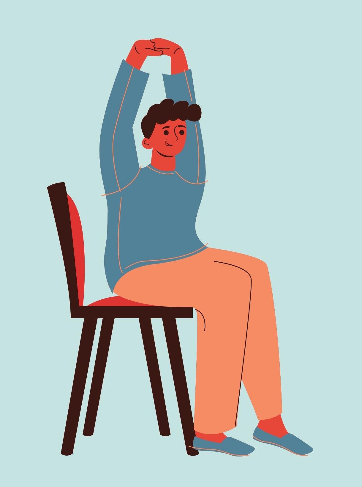 Chair Yoga at Sunrise Senior Living
