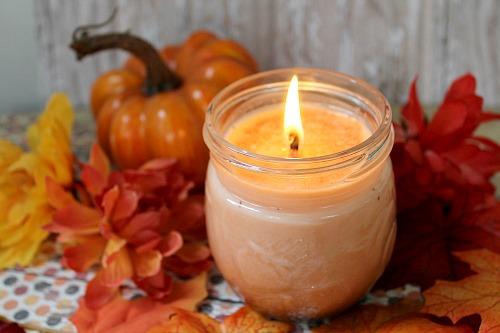 Virtual DIY Pumpkin Spice Candles
